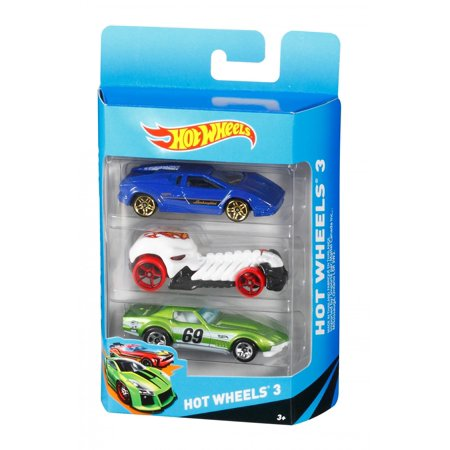 Hot Wheels 3 Cars Gift Pack (Styles May Vary)