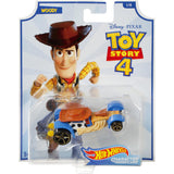 Hot Wheels Disney Pixar Toy Story Woody Character Car