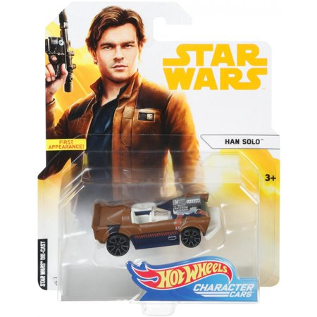 Hot Wheels Star Wars Han Solo Character Car