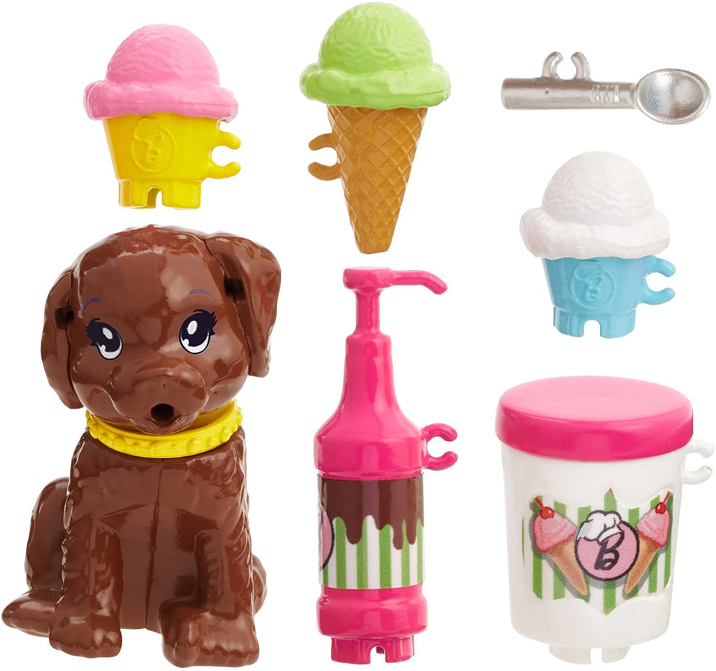 Barbie Sisters Skipper Doll & Ice Cream Cooking Accessories Set