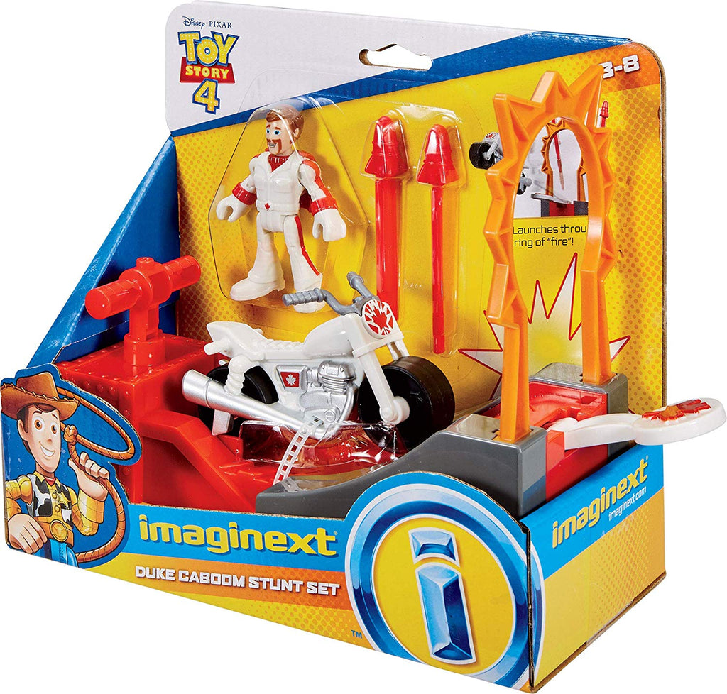 Imaginext Disney Pixar Toy Story Duke Caboom Stunt Set
