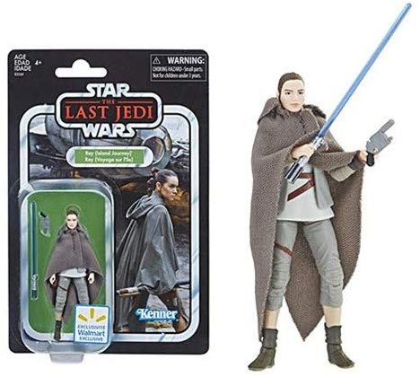 "Star Wars Vintage Collection Rey Island Journey (Jedi Training) 3 3/4"" Action Figure Exclusive"