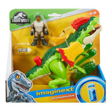 Fisher-Price Imaginext Jurassic World, Dilophosaurus and Agent