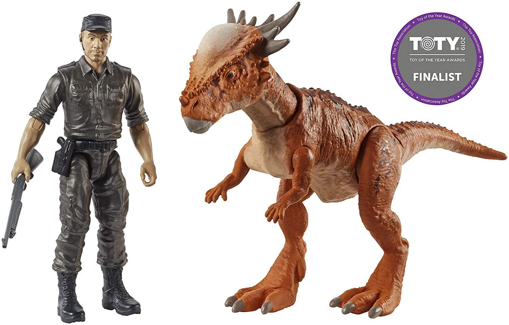 "Jurassic World Story Pack Stygimoloch ""Stiggy"" & Mercenary"