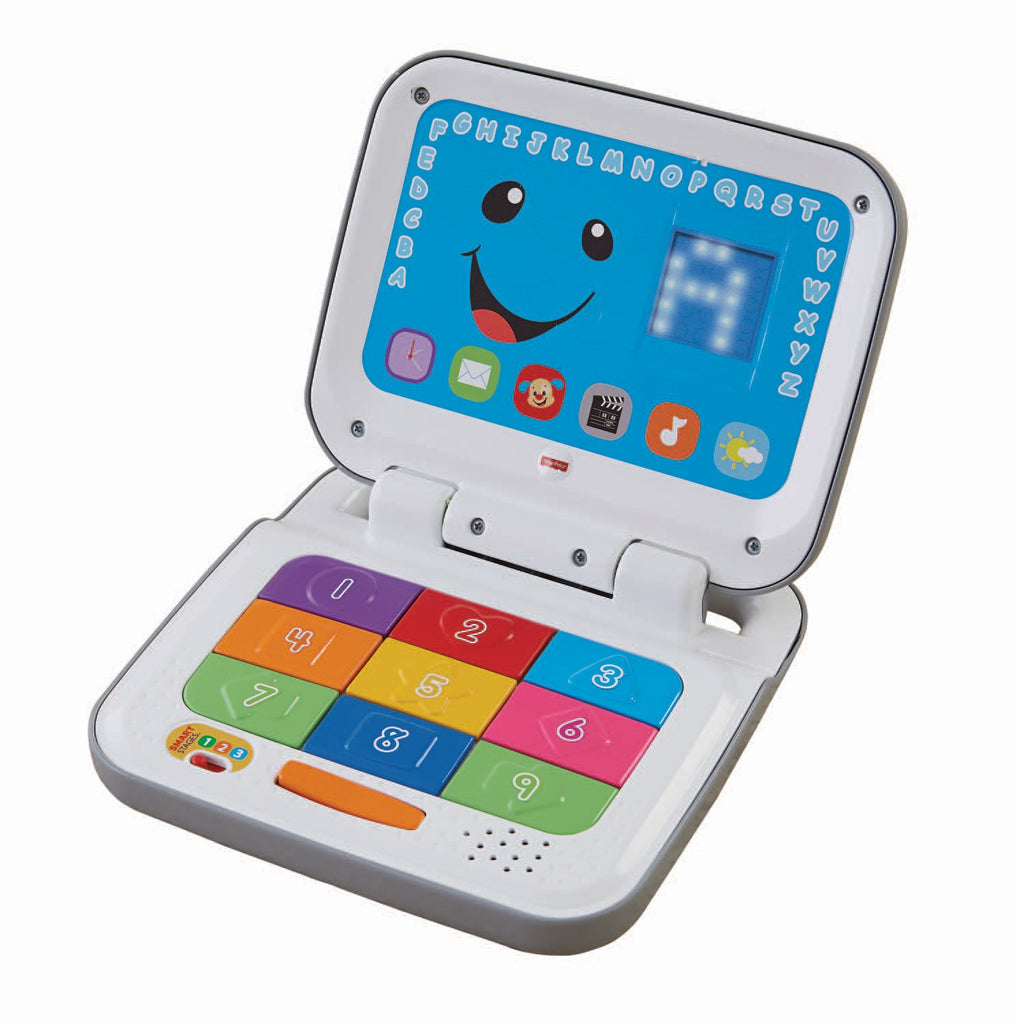 Laugh & Learn Smart Stages Laptop, Grey/White