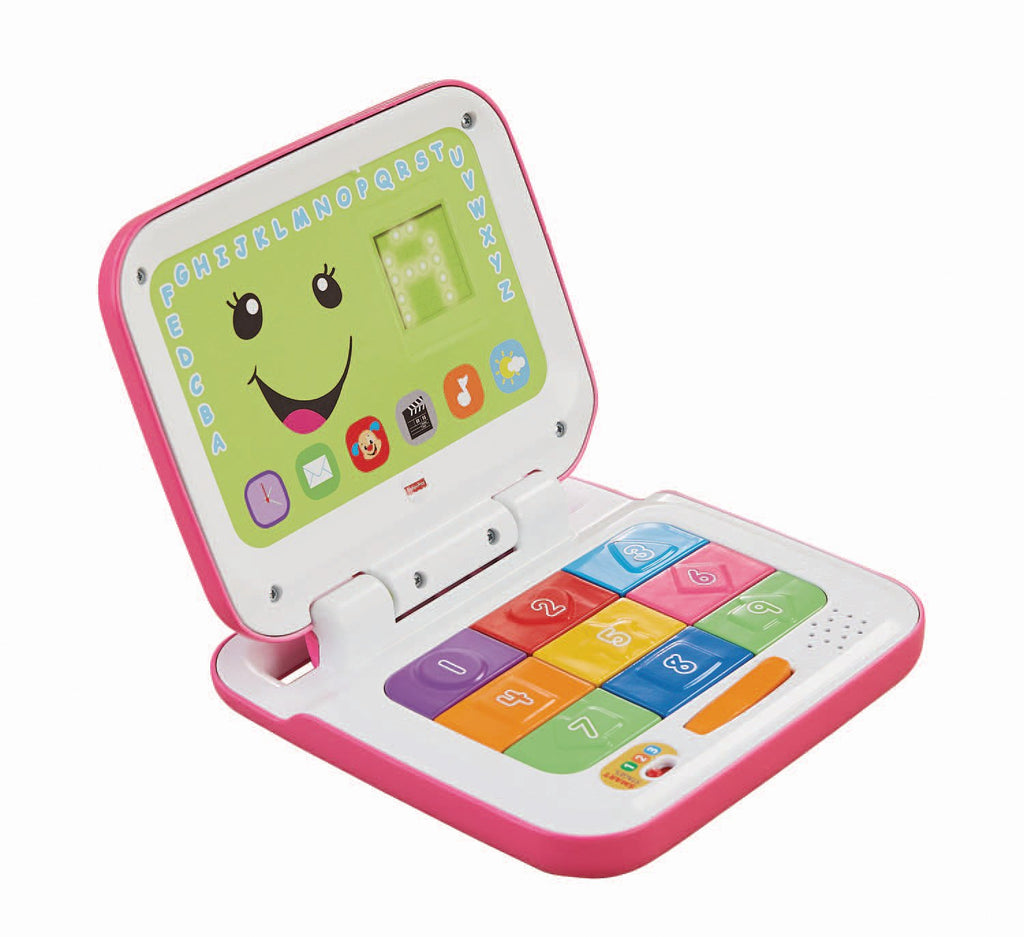 Laugh & Learn Smart Stages Laptop, Pink/White