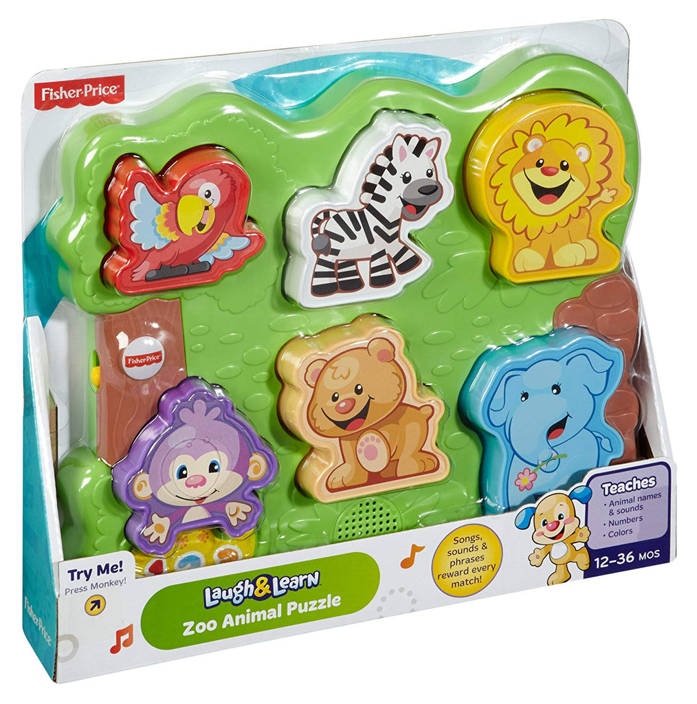 Laugh & Learn Zoo Animal Puzzle