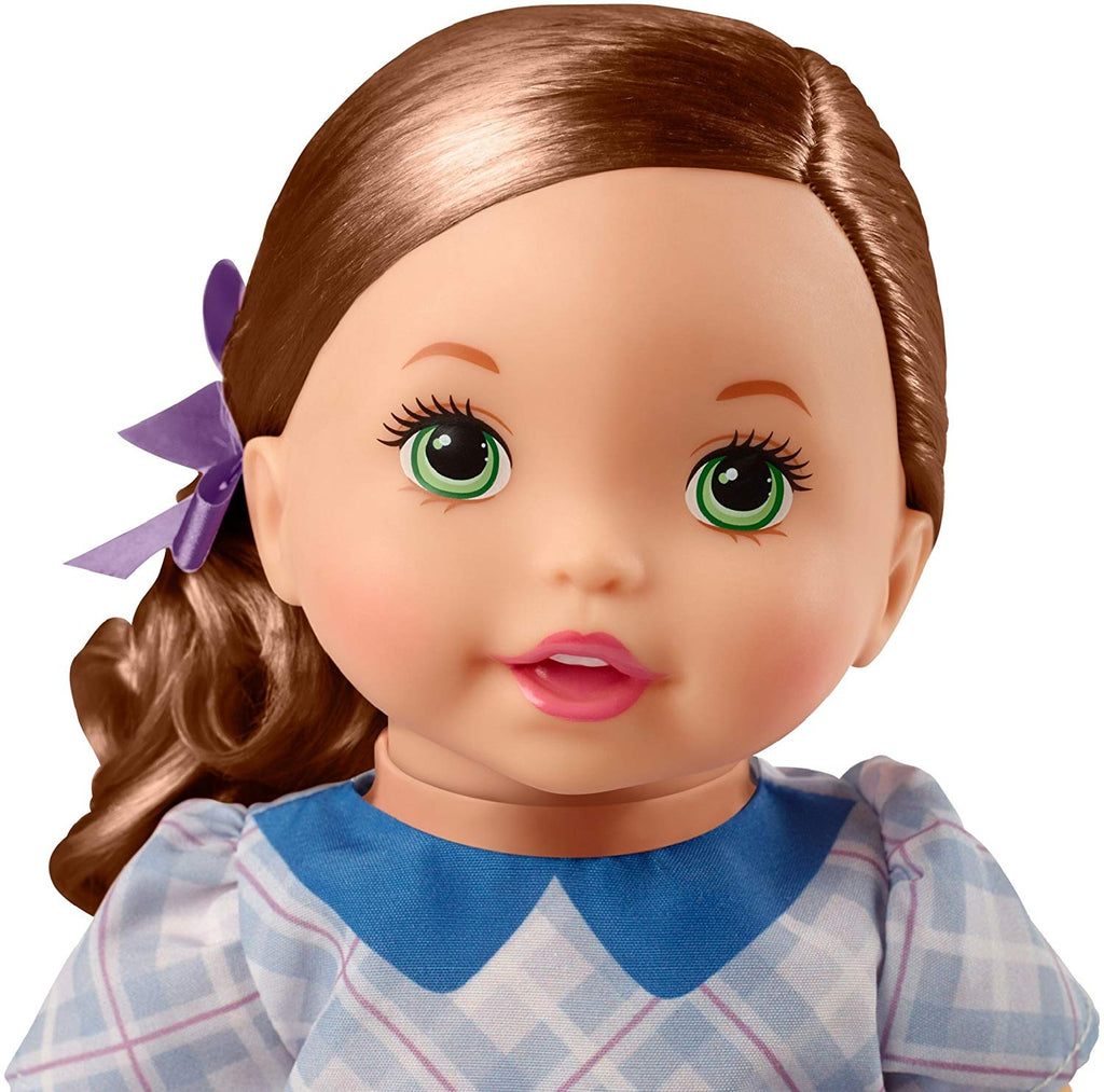 Little Mommy Sweet As Me Plaid Dress Doll with Hairbrush