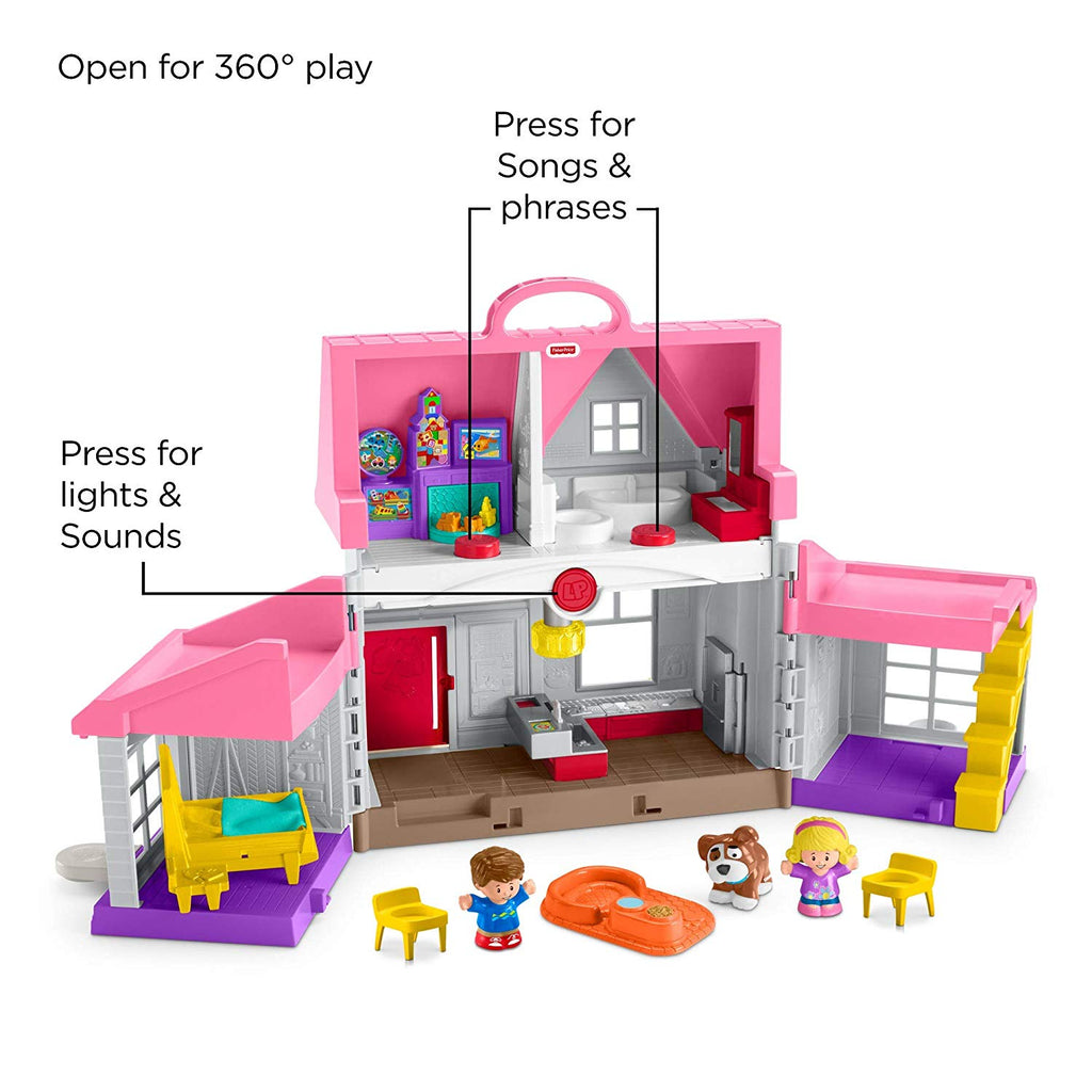 Little People Big Helpers Home, Pink