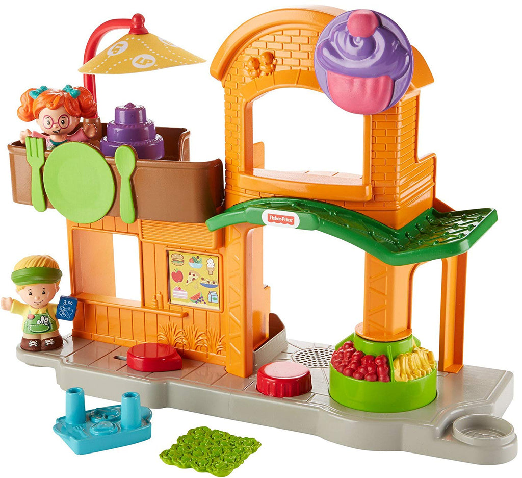 Little People Manners Marketplace Playset