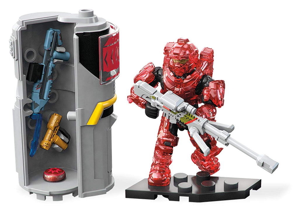 Halo Req Station Red Building Set