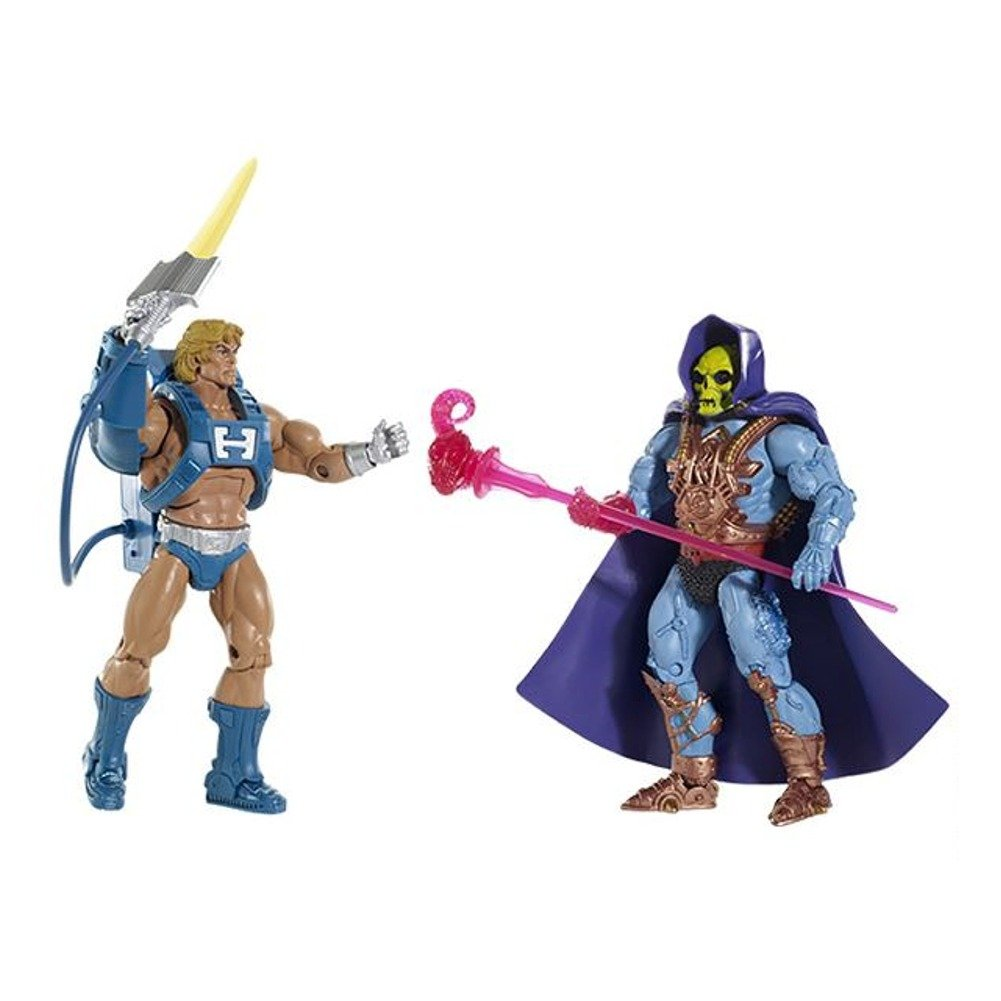 Masters Of the Universe Classics 2015, Laser Power He-man and Skeletor 2pack Adult collector