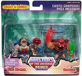 Masters of the Universe Mini King He-Man & Clawful Figures