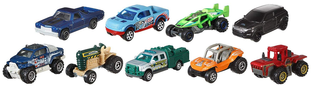 Matchbox 9 Cars Gift Pack Styles May Vary