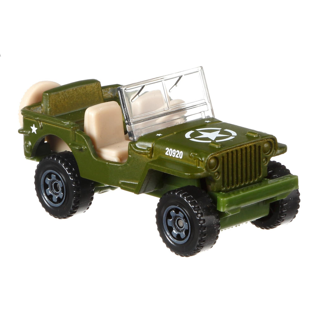 Matchbox Jeep Assortment (Styles May Vary)