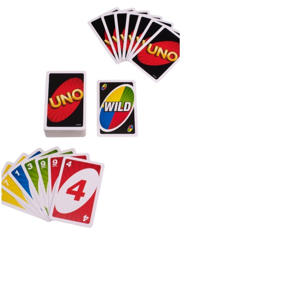 Mattel UNO & Bold Card Games