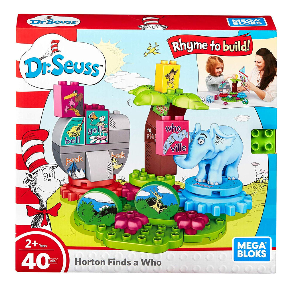 Mega Bloks Dr. Seuss Horton Finds a Who Building Set