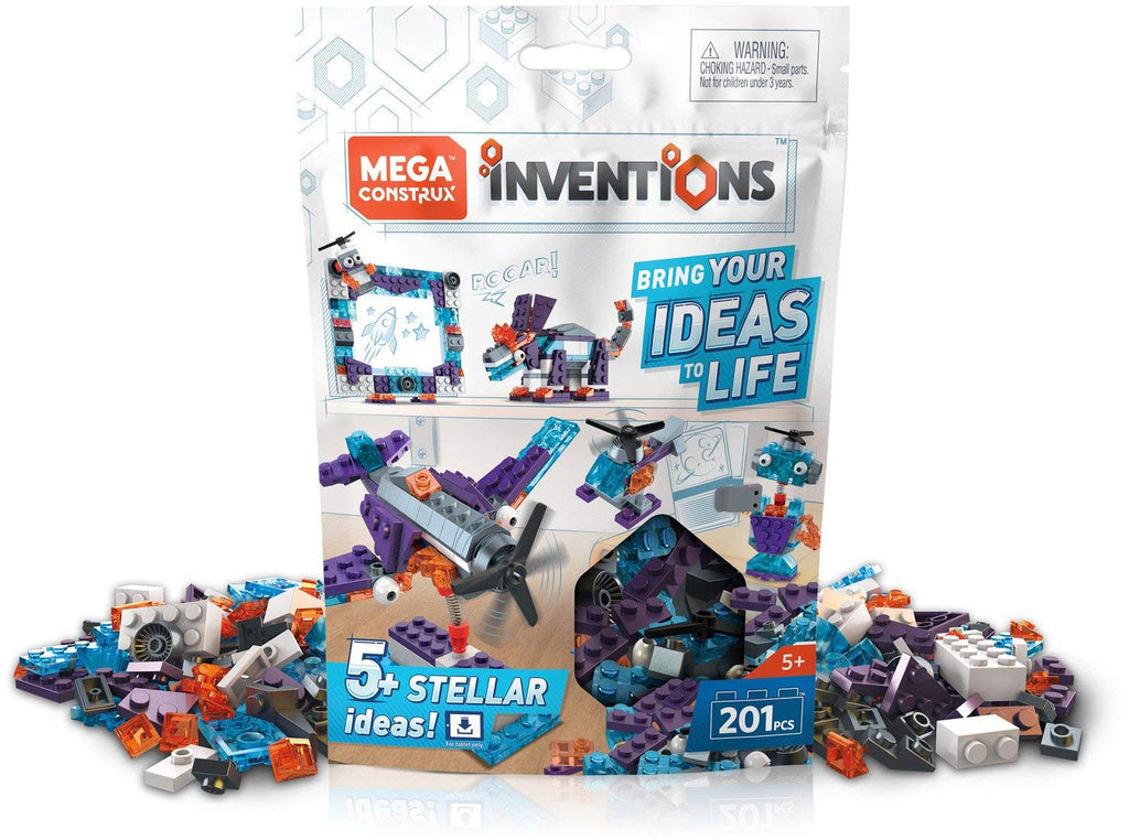 Mega Construx Inventions Space Brick Building Set