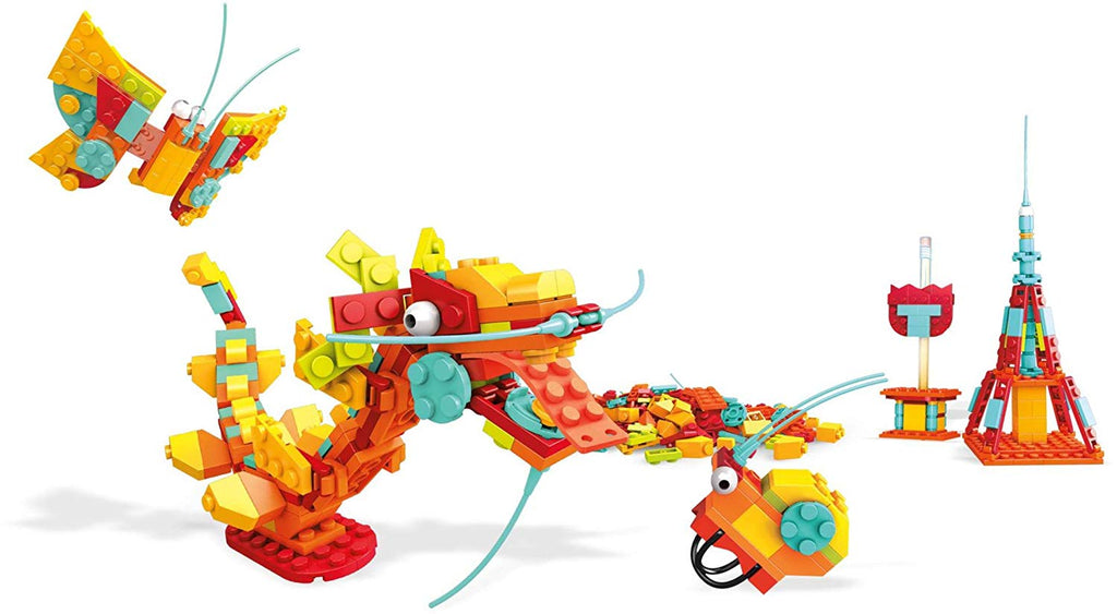 Mega Construx Inventions Bright Brick Building Set
