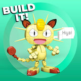 Mega Construx Pokemon Meowth Construction Set