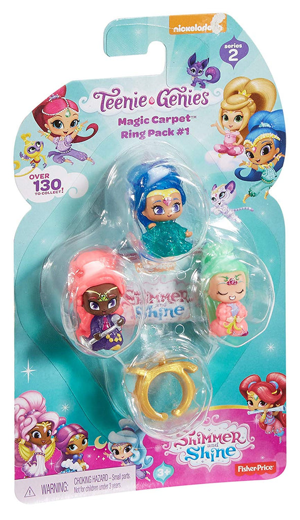 Nickelodeon Shimmer & Shine, Teenie Genies, Magic Carpet Ring Playset