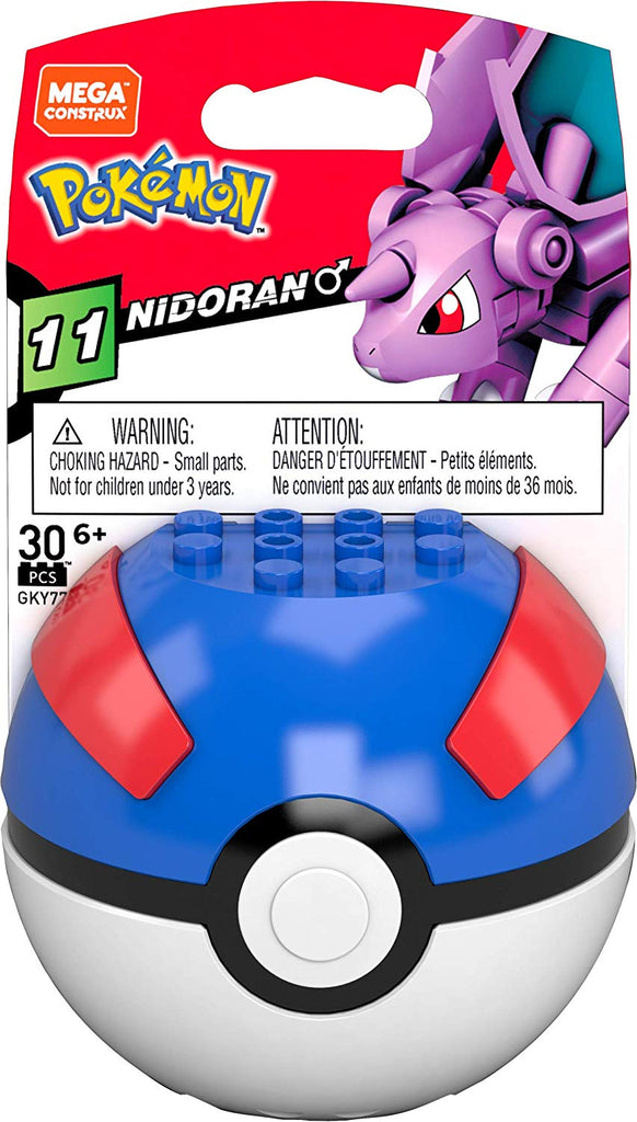 Pokemon Nidoran Great Ball