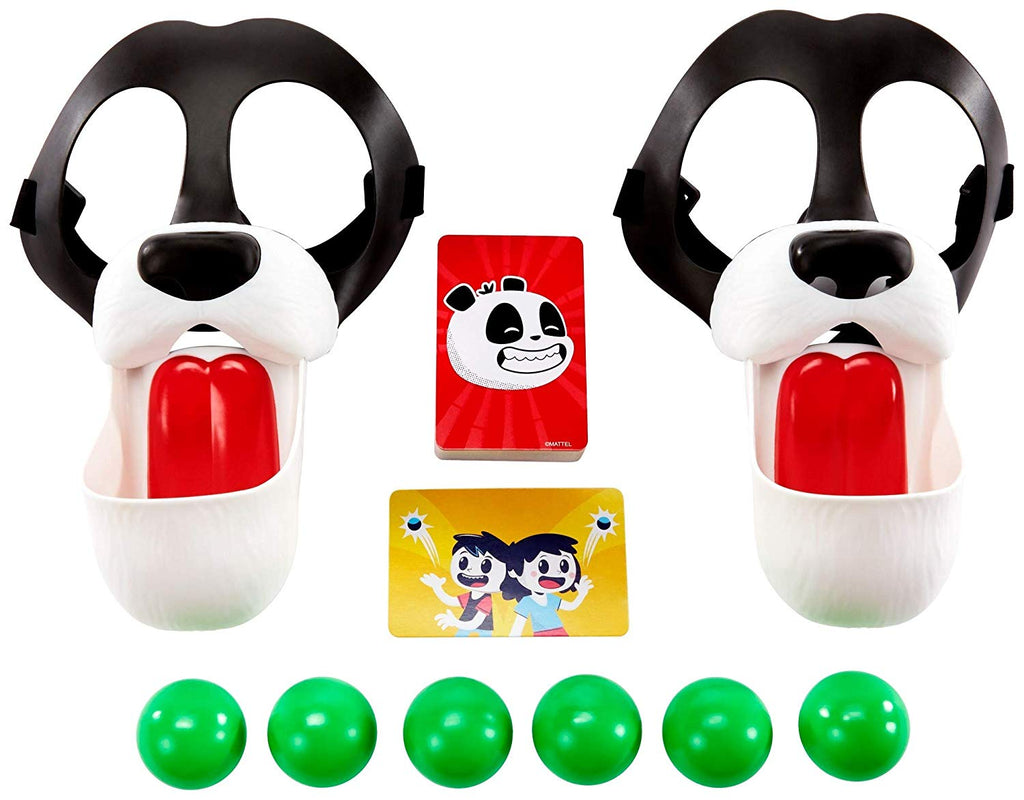 Please Feed The Pandas Kids Game with Panda Masks
