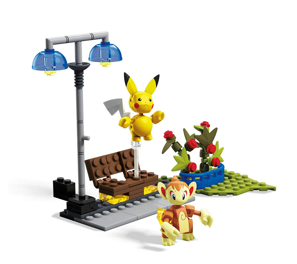 Mega Construx Pokemon Chimchar vs Pikachu