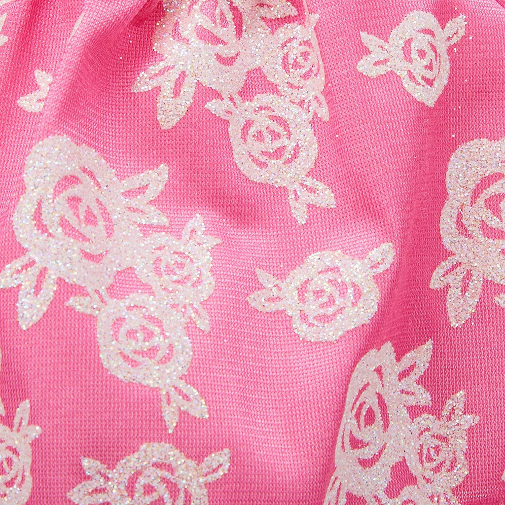 Barbie Complete Looks Pink & White Floral Gown Fashion