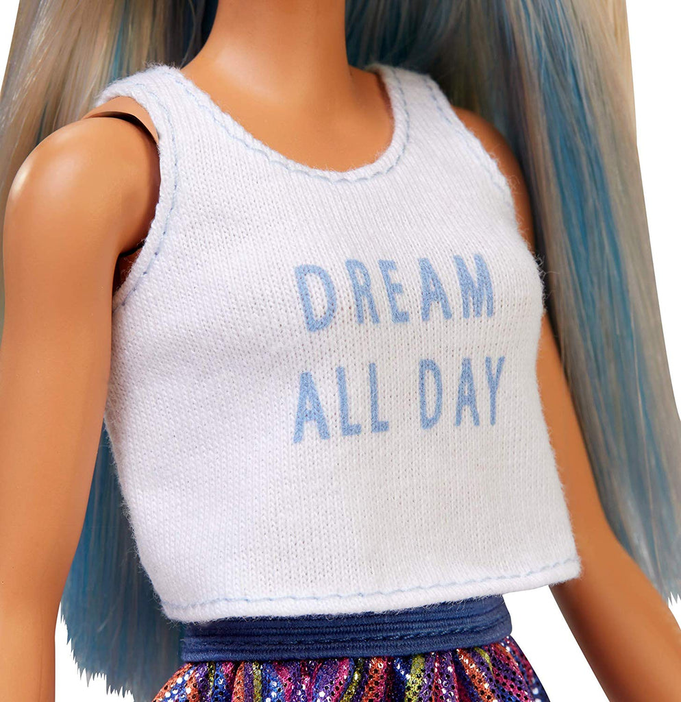 Barbie Fashionistas Doll with Long Blue and Platinum Blonde Hair