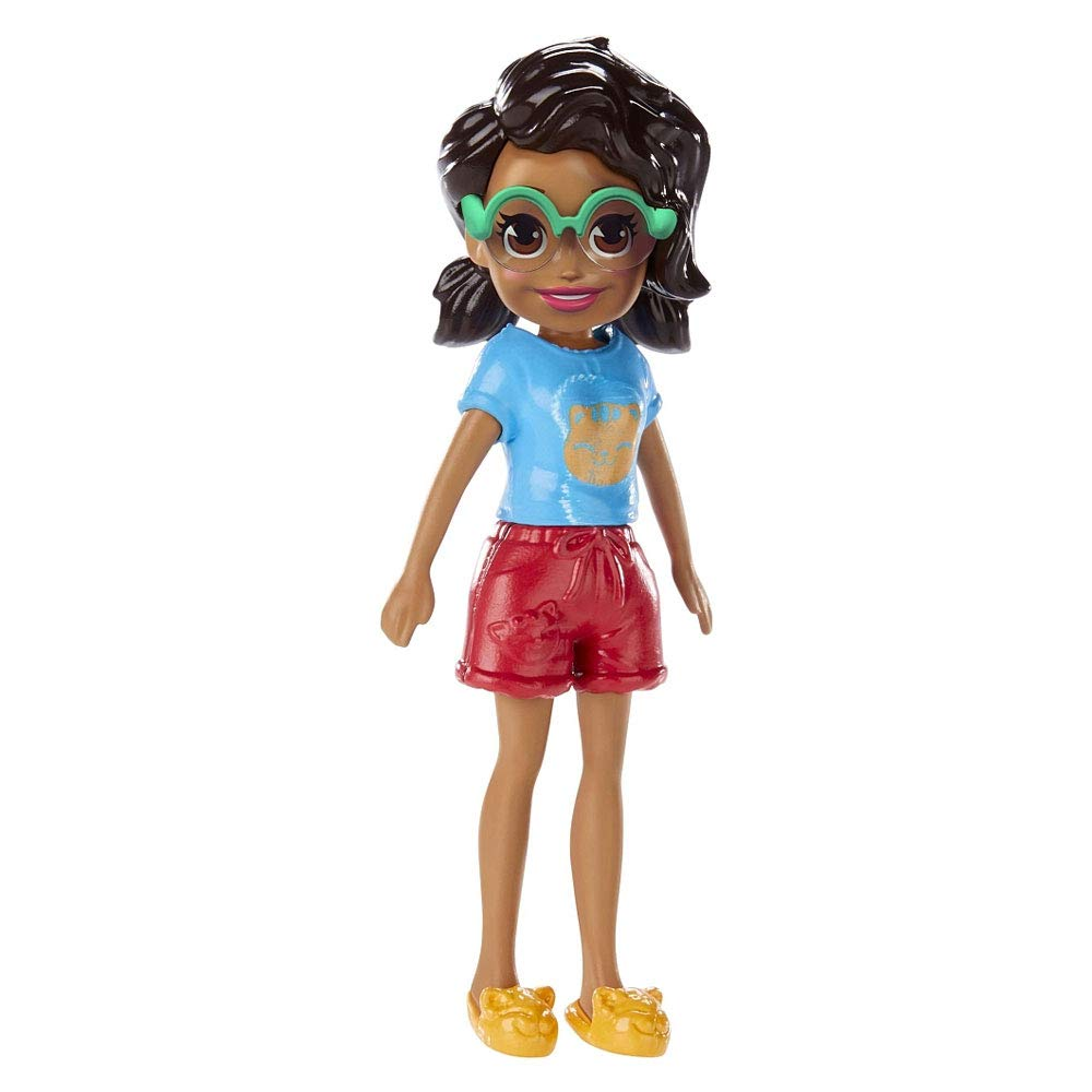 Polly Pocket Doll With Trendy Outfit