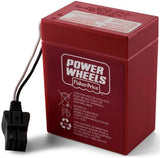 Power Wheels 6-Volt Rechargeable Replacement Battery