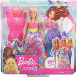 Barbie Dreamtopia Dress Up Blonde Doll Gift Set