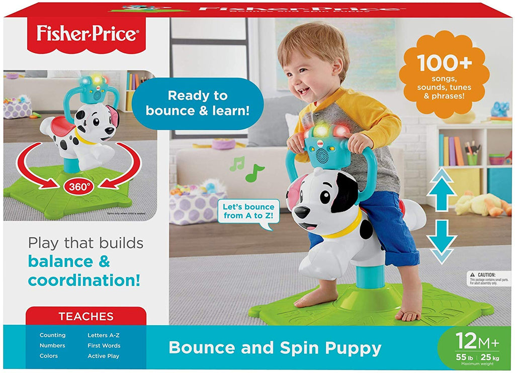 Bounce and Spin Interactive Puppy with Lights & Sounds