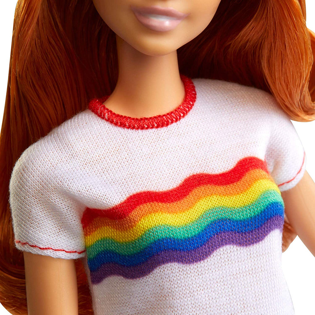 Barbie Fashionistas Doll with Long Red Hair