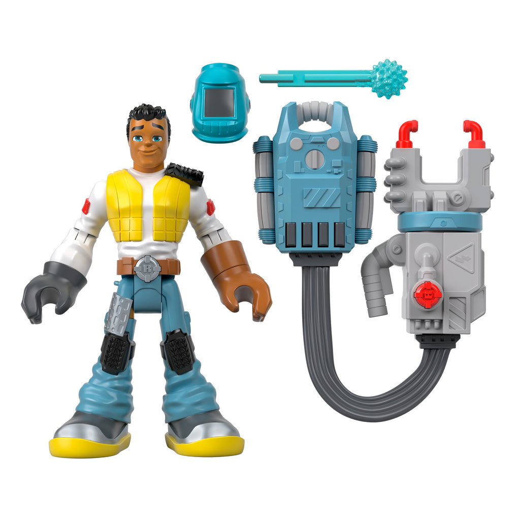 Rescue Heroes Carlos KitBash 6-Inch Figure with Accessories