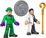 DC Super Friends The Riddler and Two Face Figures