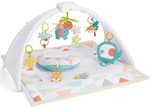 Safari Dreams Music & Lights Gym & Tummy Wedge
