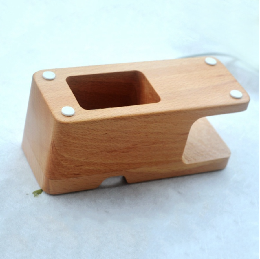 Bamboo Stand for iWatch iPhone