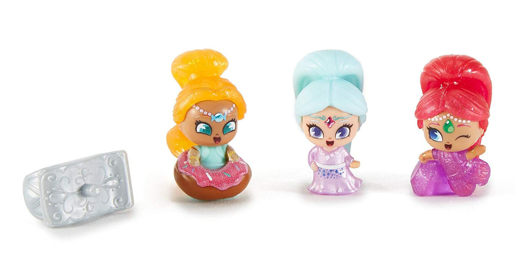 Shimmer & Shine, Teenie Genies, Magic Carpet Ring Playset Includes Sosi, Shimmer, Galla