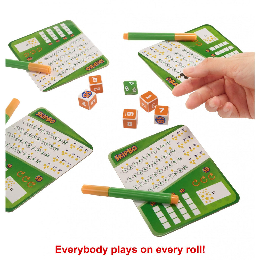 Skip-Bo Roll and Write