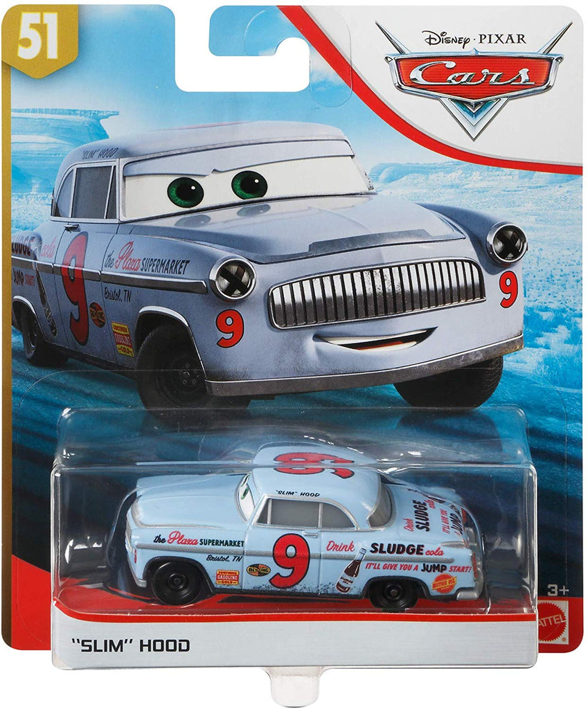 Disney Pixar Cars Slim Hood