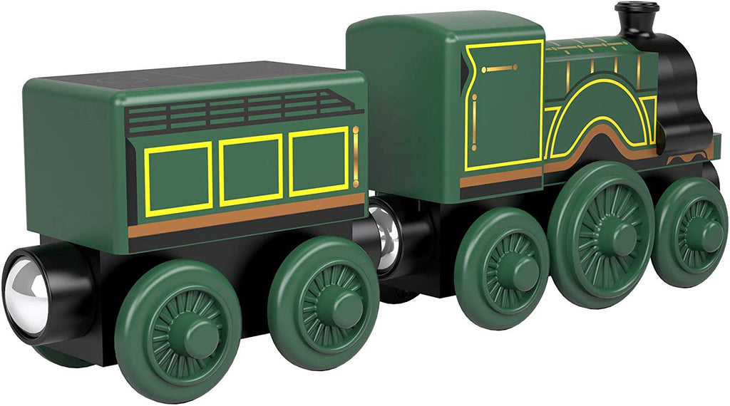 Thomas & Friends Wood Emily Green Wooden Tank Engine Train