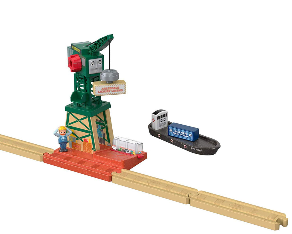 Thomas & Friends Fisher-Price Wood, Cranky at The Docks
