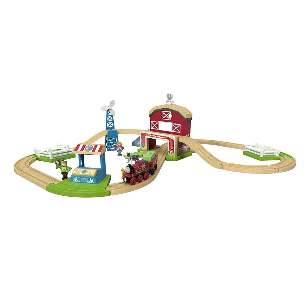 Thomas & Friends Fisher-Price Wood, Family Farm Set Toy
