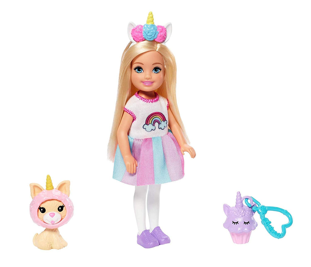 Barbie Club Chelsea Doll Unicorn Playset