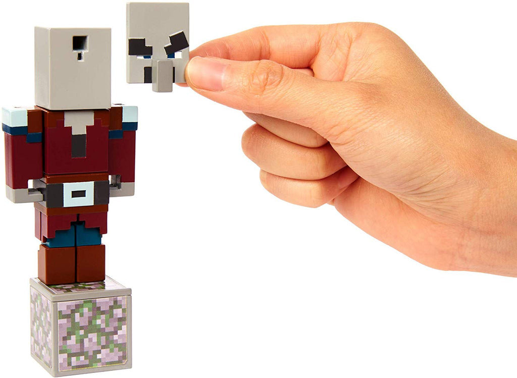 Minecraft Comic Maker Villager Action Figure