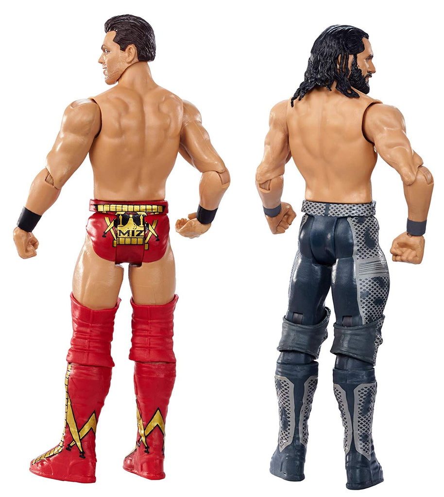 WWE Wrestlemania Seth Rollins Vs The Miz 2-Pack