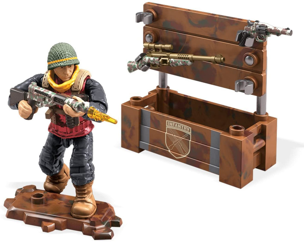 Mega Construx Call of Duty WWII Weapon Crate