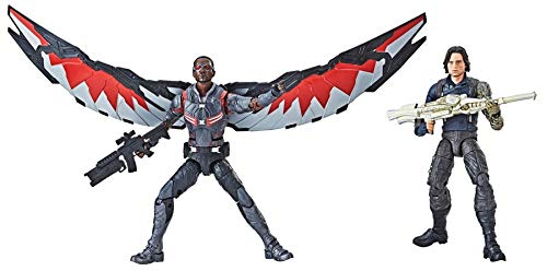 Marvel Legends Winter Soldier & Marvel's Falcon Action Figure 2-Pack